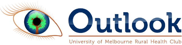 Outlook - University of Melbourne Rural Health Club logo