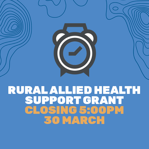 Rural Allied Health Support Program